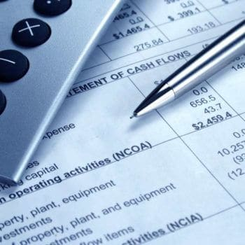 commercial loan or property development finance form signing